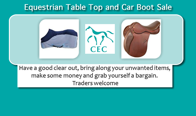 Table Top and Car Boot Sale at  Caistor Equestrian Centre