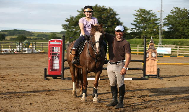 Jane Bartle-Wilson at  Caistor Equestrian Centre