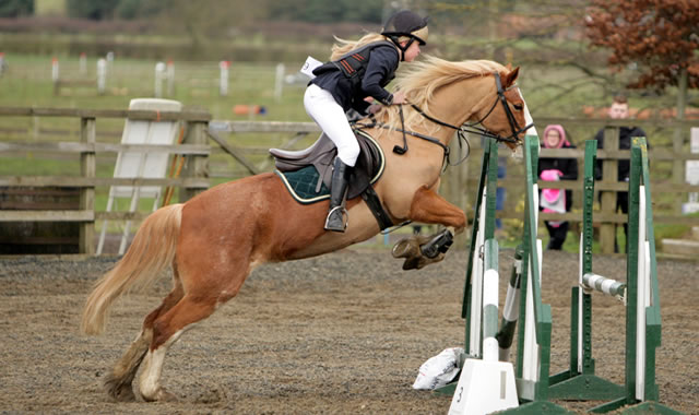 Evening Show Jumping on 5th August 2016 at Caistor Equestrian Centre